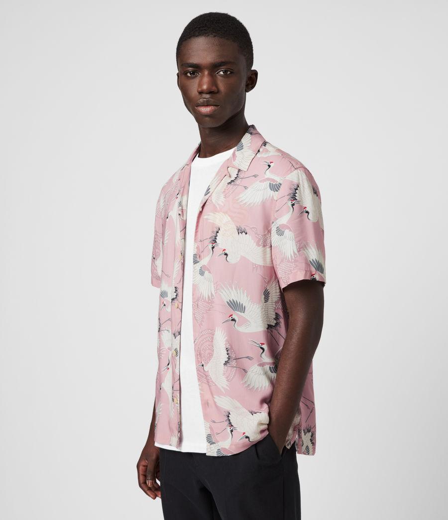 Hombre Tsuru Shirt (blossom_pink) - Image 3