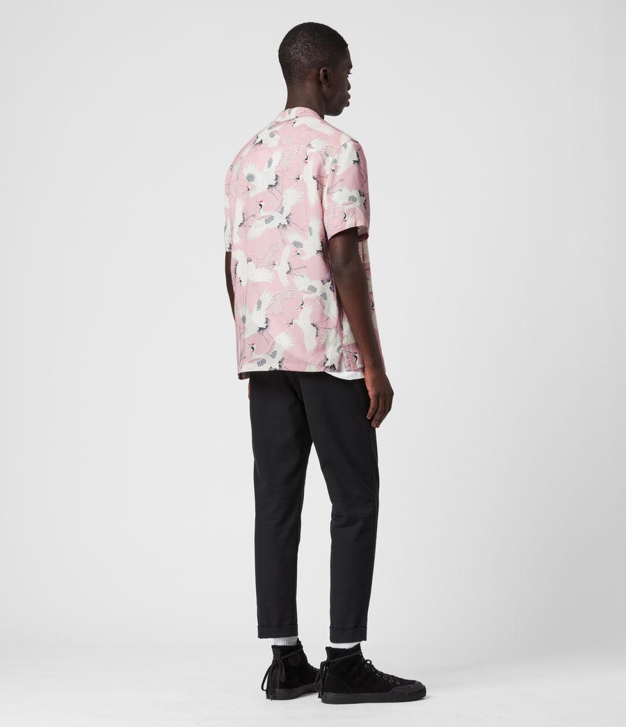 Hombre Tsuru Shirt (blossom_pink) - Image 4