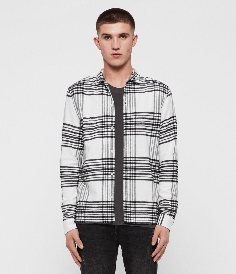 Hombres Camisa Moritz (black_white) - Image 1