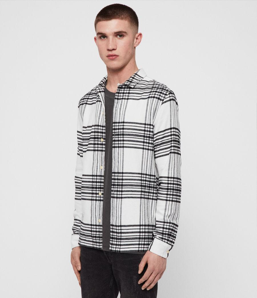 Hombres Camisa Moritz (black_white) - Image 3
