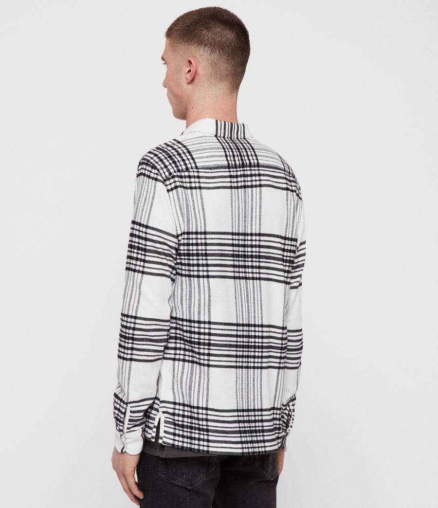 Hombres Camisa Moritz (black_white) - Image 4