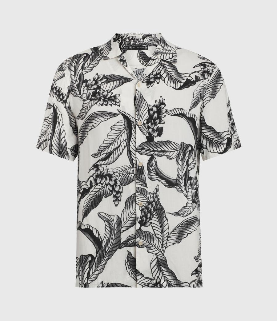 Mens Kahuna Short Sleeve Shirt (ecru) - Image 1