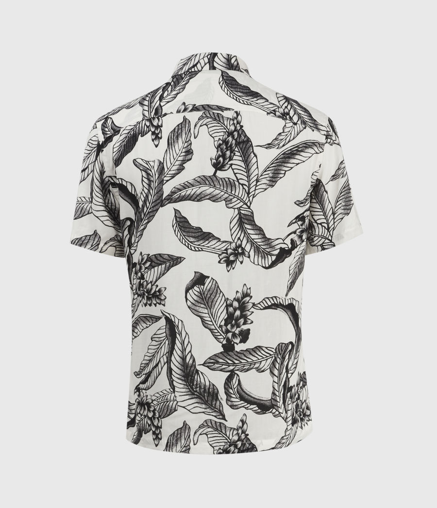 Mens Kahuna Short Sleeve Shirt (ecru) - Image 2