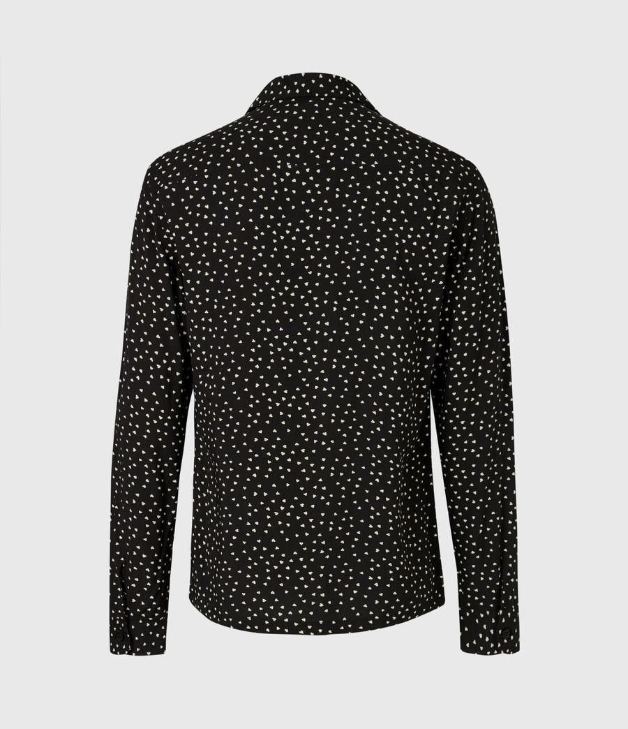 Men's Ardor Shirt (jet_black_ecru) - Image 3