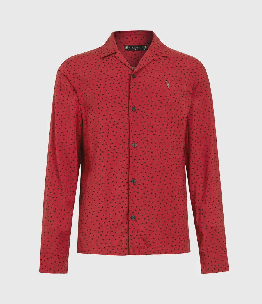 Men's Ardor Shirt (junberry_rd_jt_blk) - Image 2