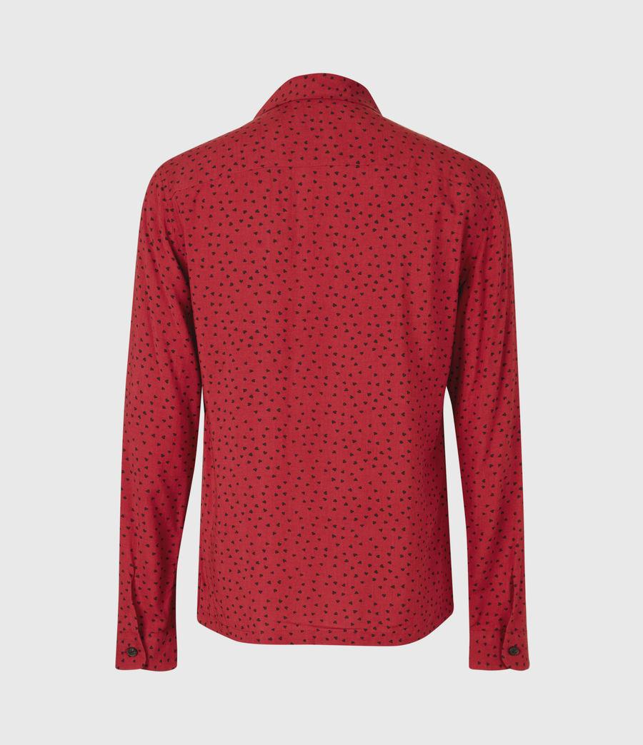 Men's Ardor Shirt (junberry_rd_jt_blk) - Image 3