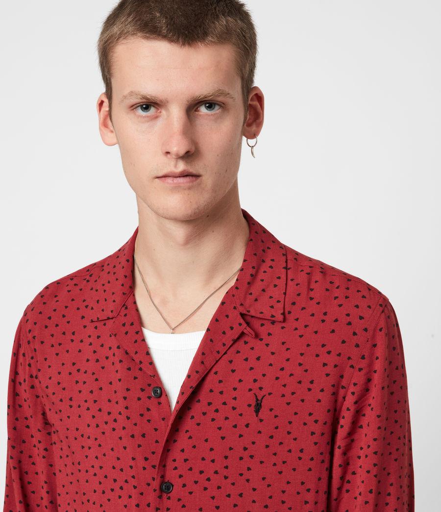 Men's Ardor Shirt (junberry_rd_jt_blk) - Image 4