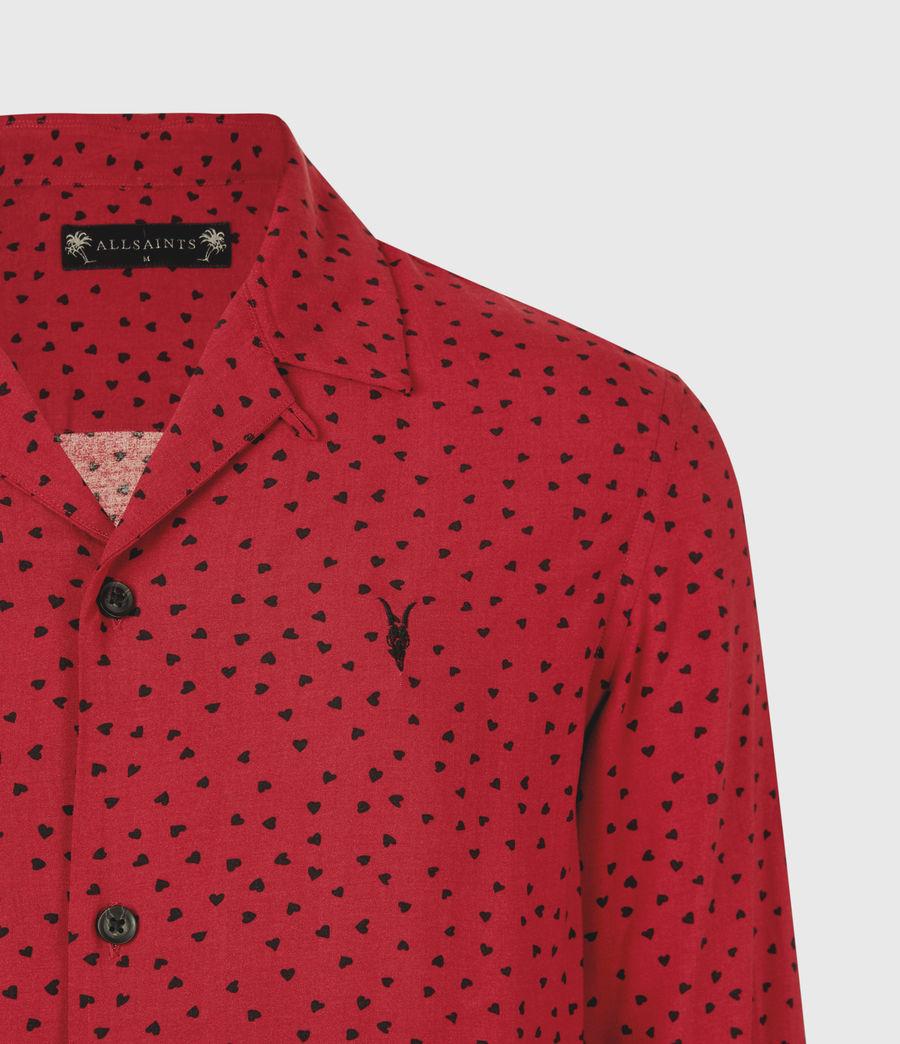 Men's Ardor Shirt (junberry_rd_jt_blk) - Image 5