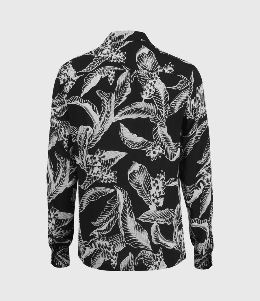 Men's Kahuna Long Sleeve Shirt (jet_black) - Image 2
