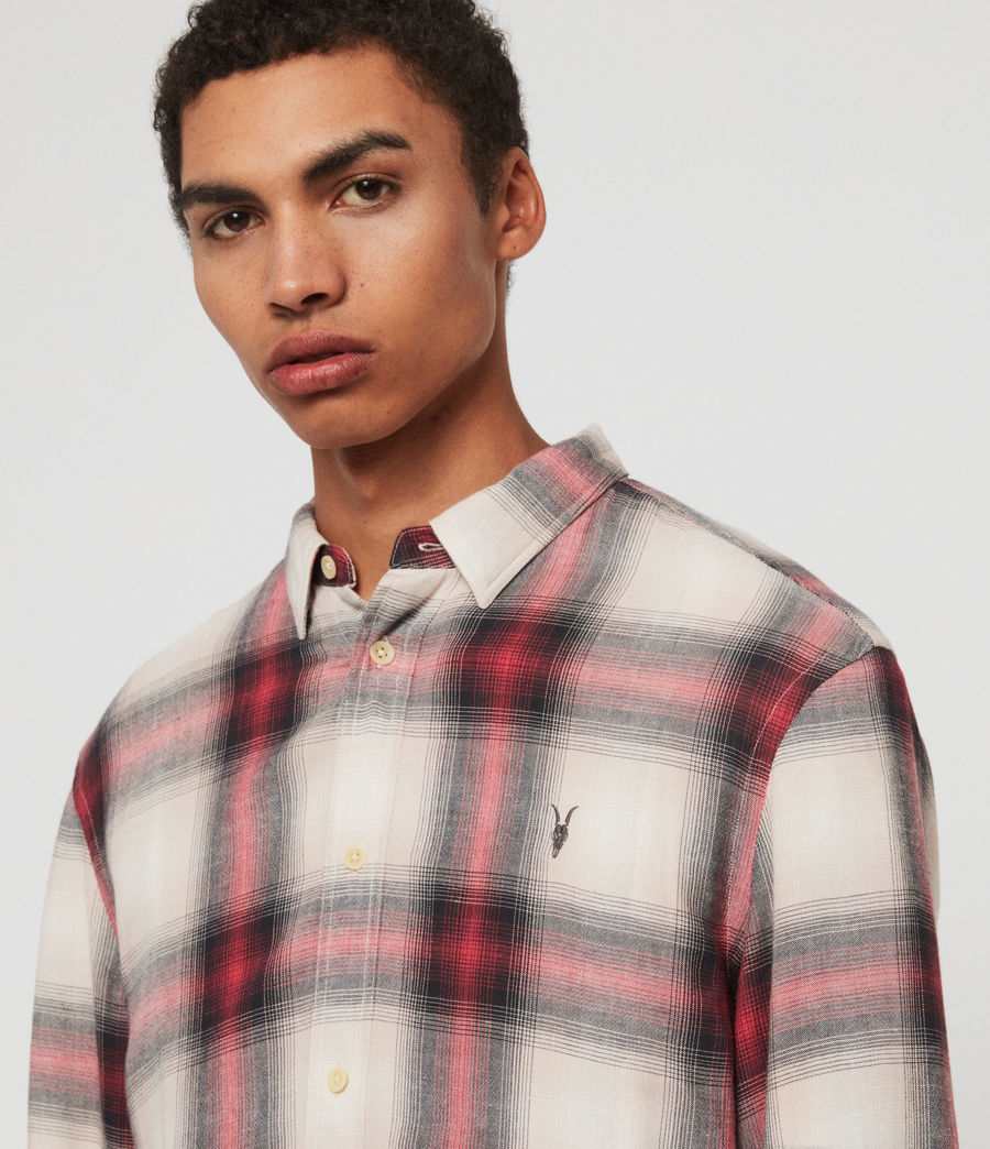 Mens Myers Shirt (pink_white) - Image 4