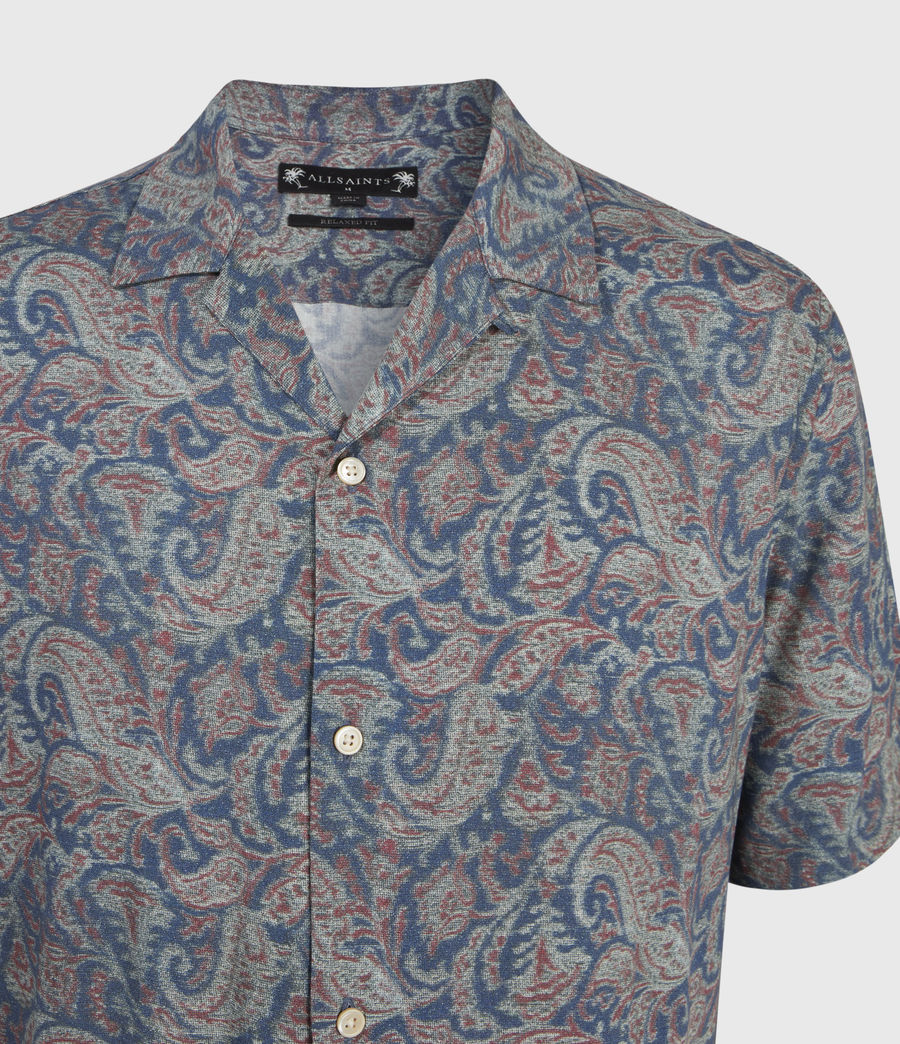 Men's Transmission Shirt (blue) - Image 3