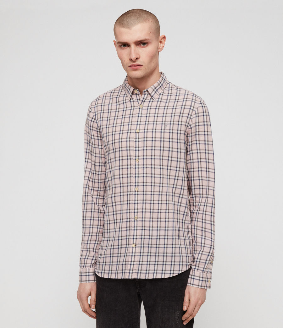 Men's Amos Shirt (pink) - Image 3
