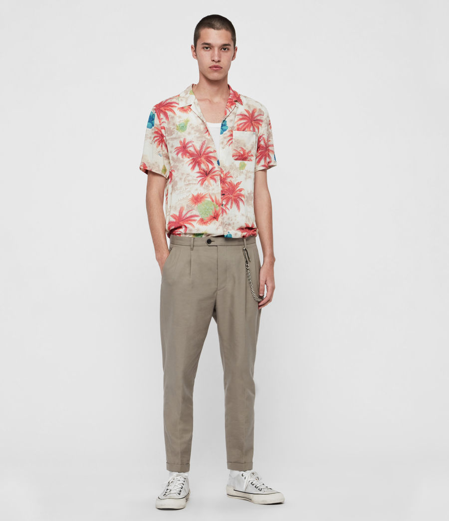 Men's Kanaloa Shirt (ecru) - Image 1