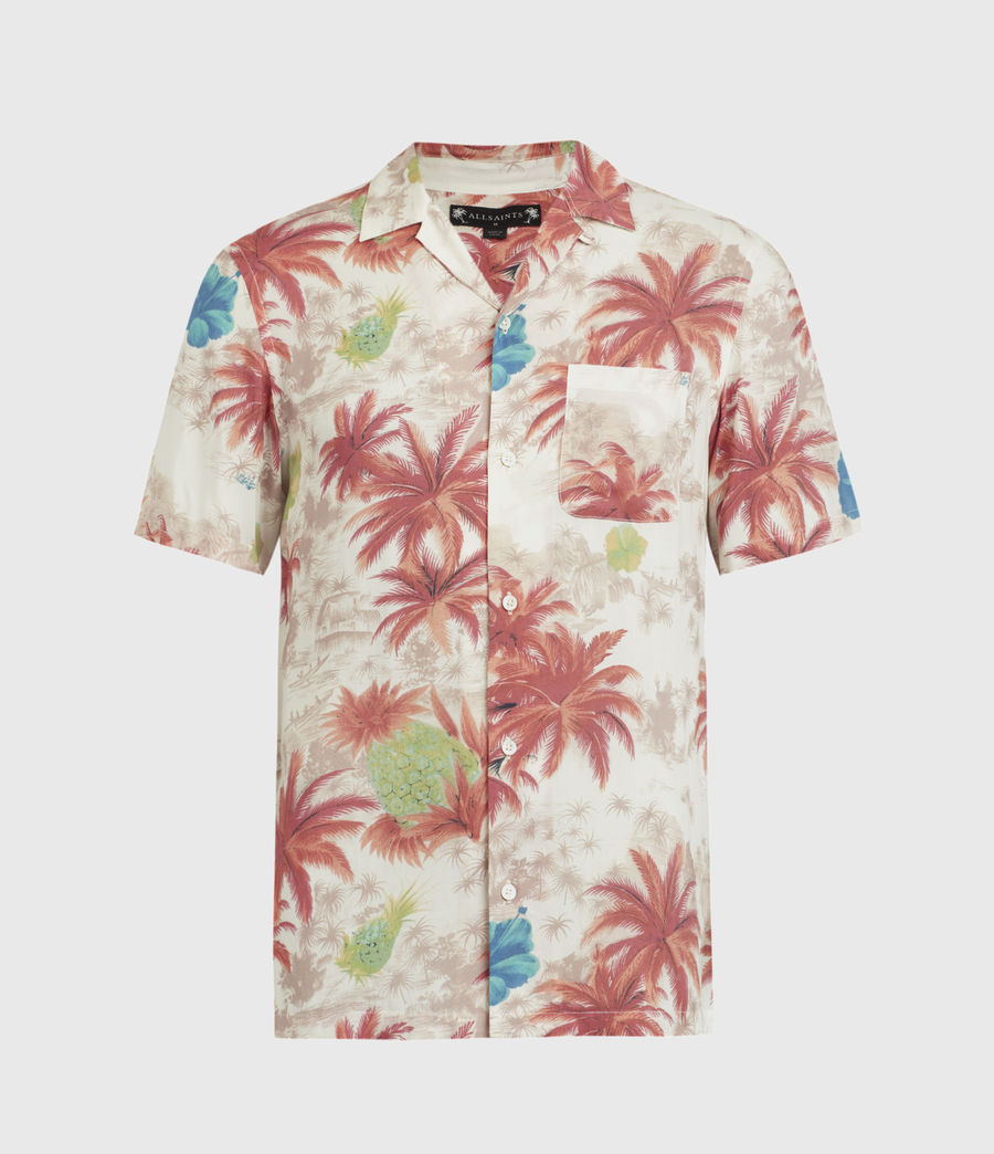 Men's Kanaloa Shirt (ecru) - Image 2
