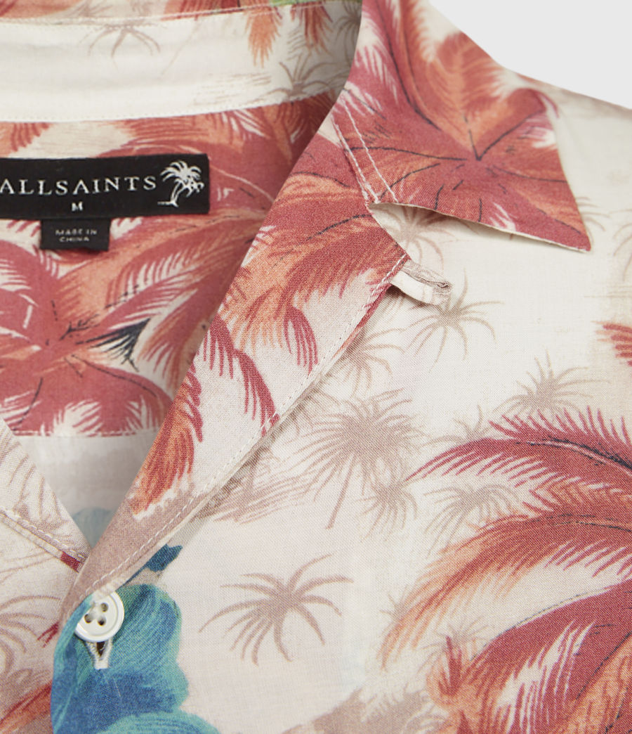 Men's Kanaloa Shirt (ecru) - Image 4