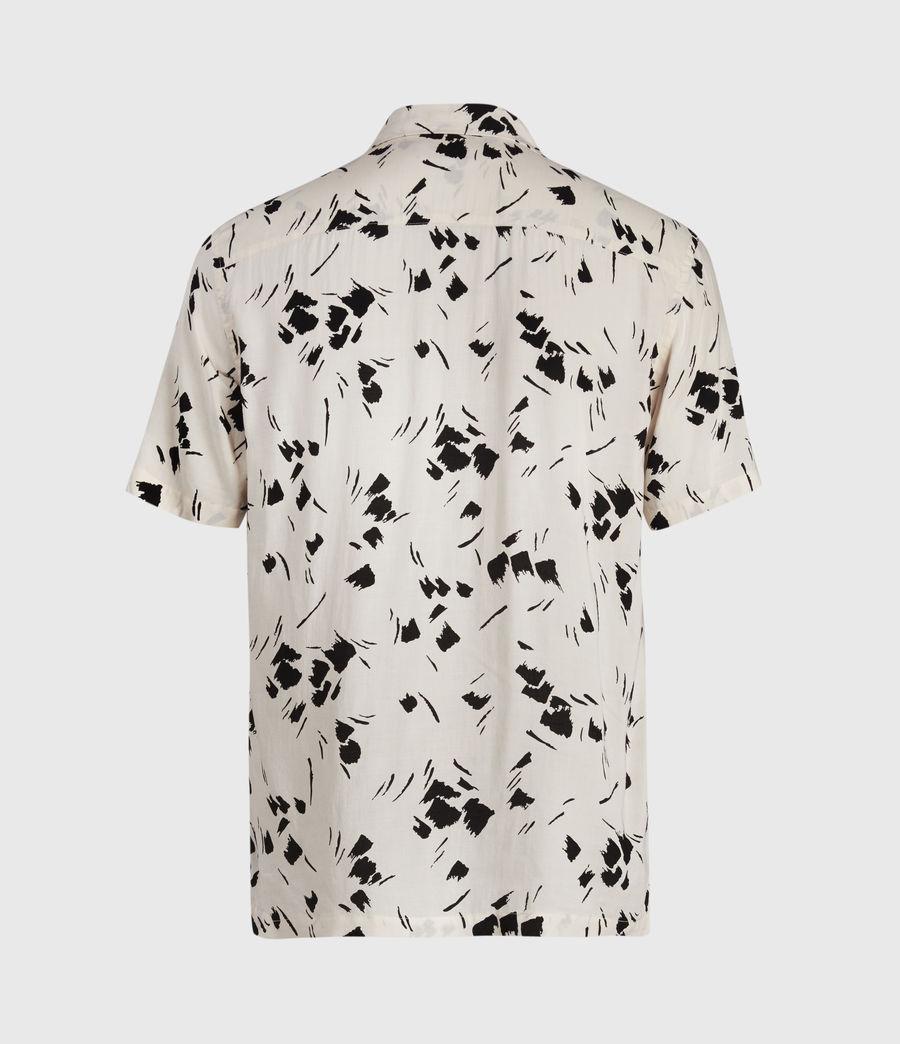 Mens Borealis Shirt (ecru_jet_black) - Image 2