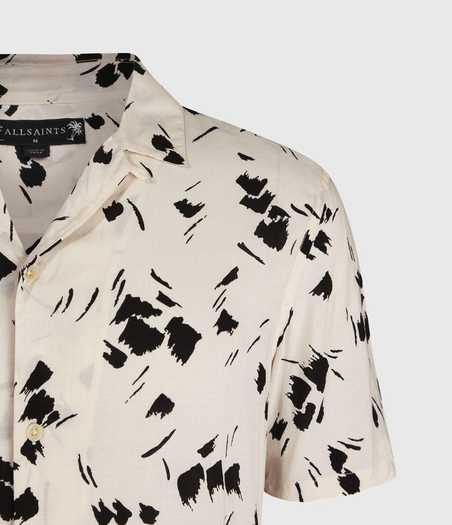 Mens Borealis Shirt (ecru_jet_black) - Image 3