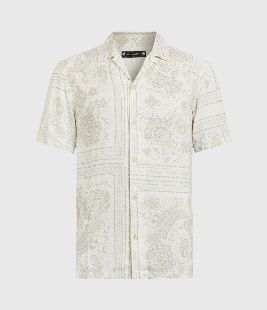 Mens Ventura Short Sleeve Shirt (off_white) - Image 2