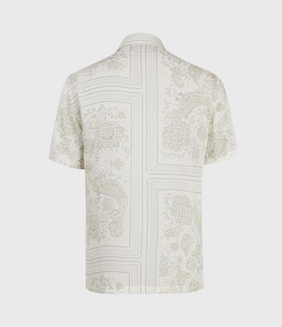 Mens Ventura Short Sleeve Shirt (off_white) - Image 3