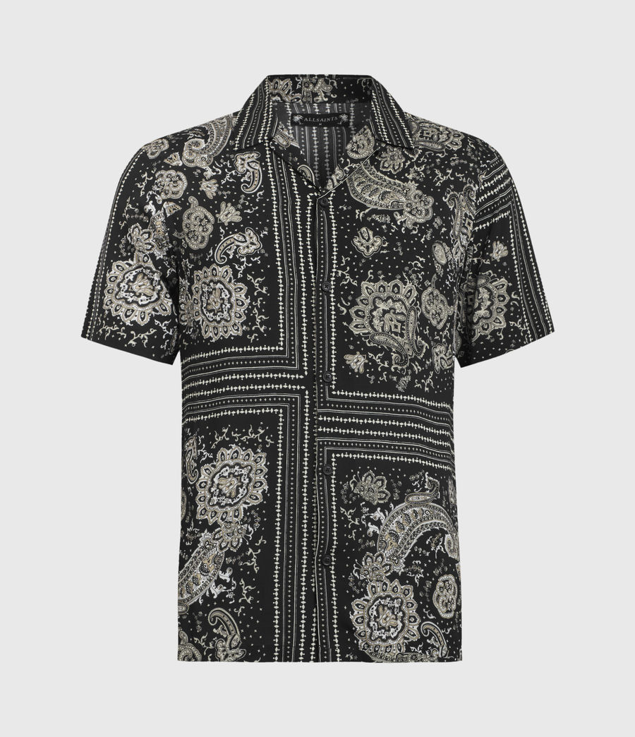 Men's Ventura Short Sleeve Shirt (jet_black) - Image 2