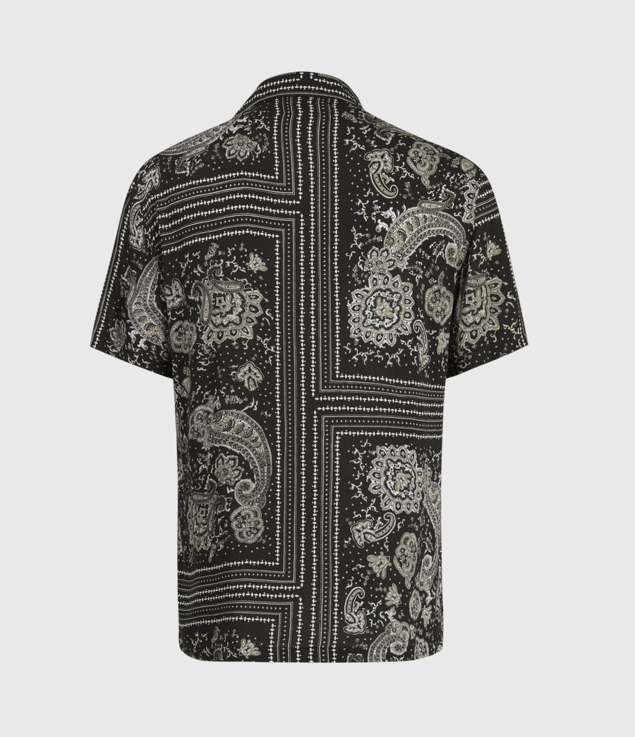 Men's Ventura Short Sleeve Shirt (jet_black) - Image 3