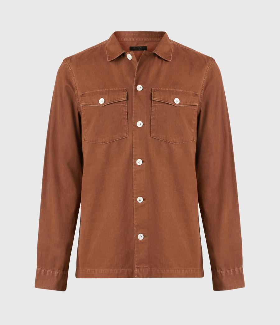 Men's Spotter Shirt (saddle_brown) - Image 2