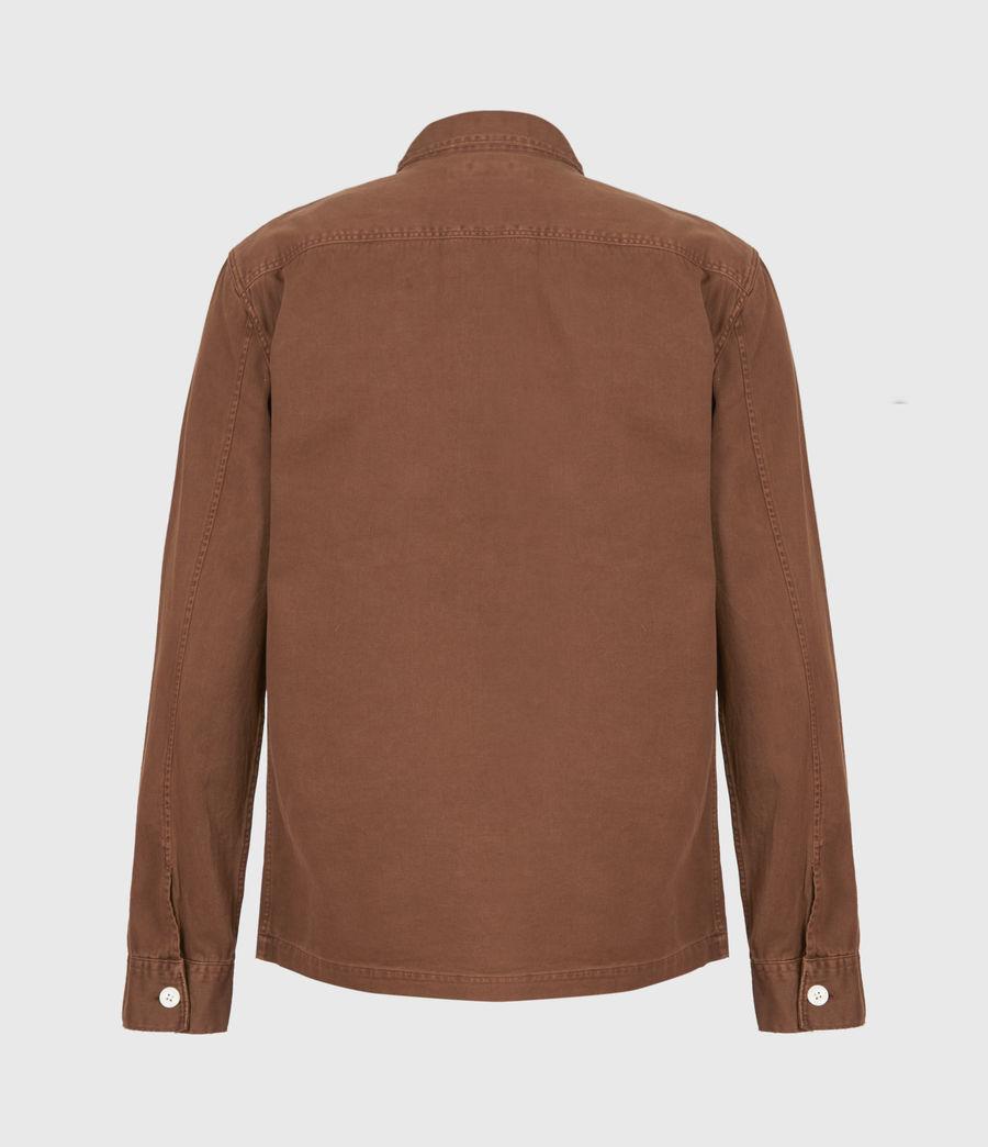 Men's Spotter Shirt (saddle_brown) - Image 3