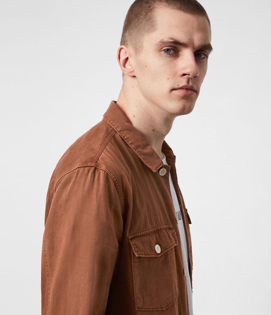 Men's Spotter Shirt (saddle_brown) - Image 4