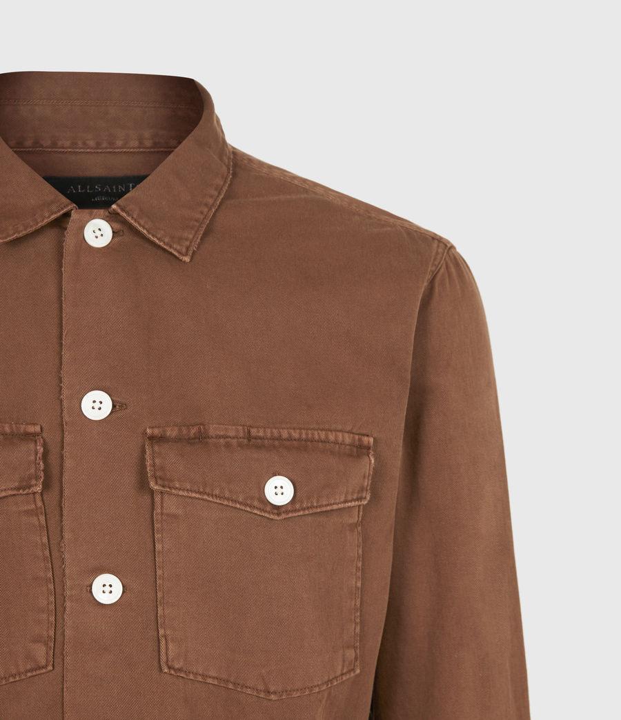 Men's Spotter Shirt (saddle_brown) - Image 5