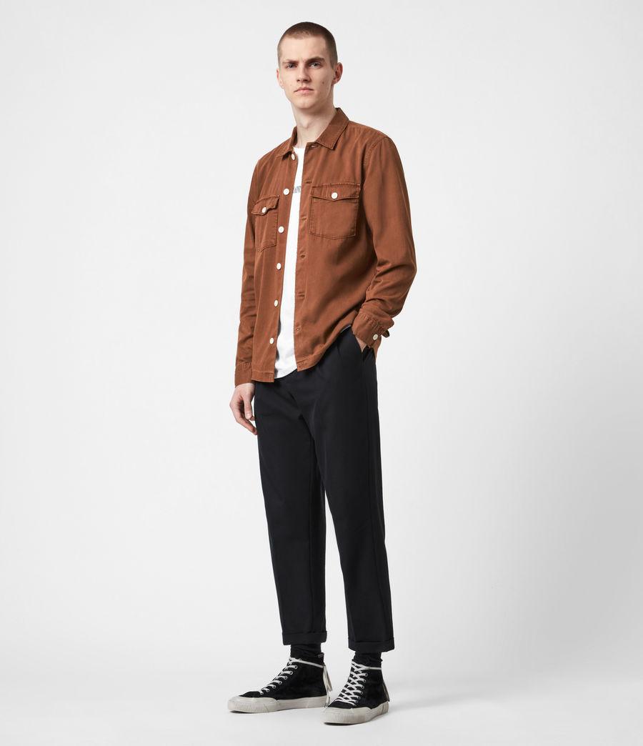 Men's Spotter Shirt (saddle_brown) - Image 6