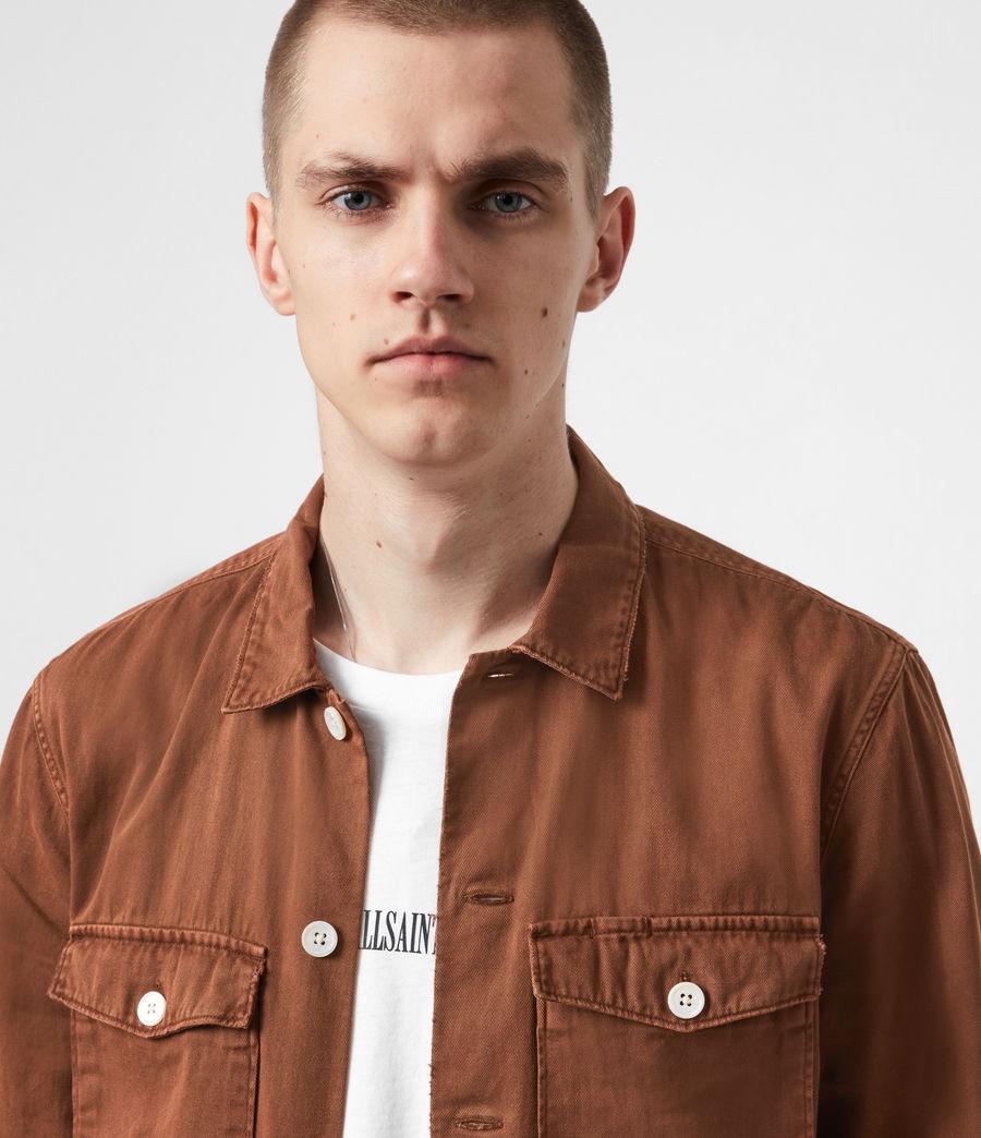 Men's Spotter Shirt (saddle_brown) - Image 7