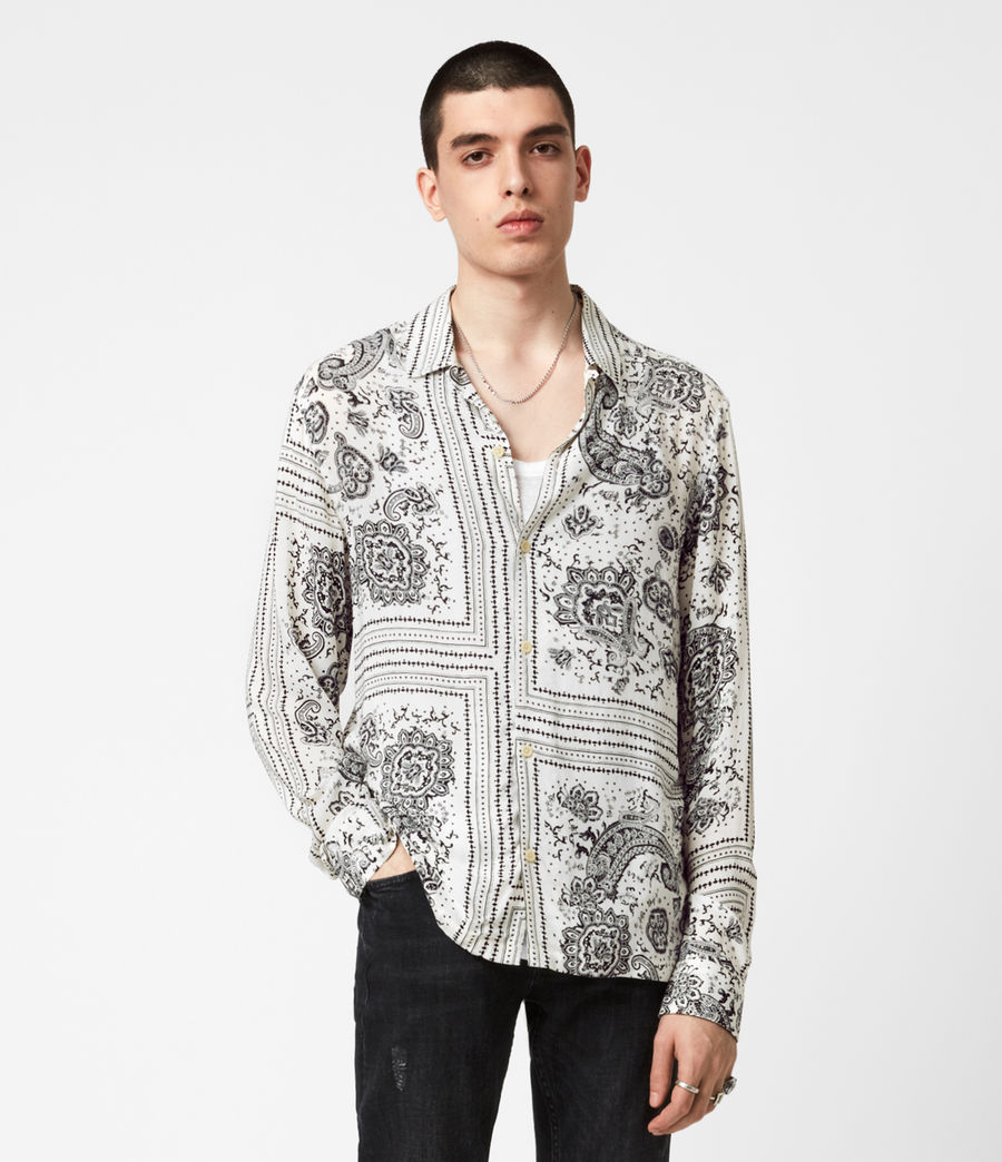 Men's Ventura Long Sleeve Shirt (ecru) - Image 1