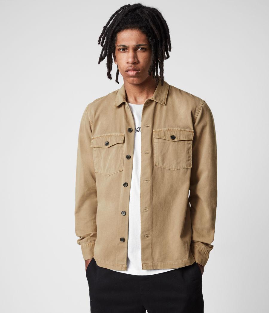 Men's Spotter Shirt (sahara_brown) - Image 1