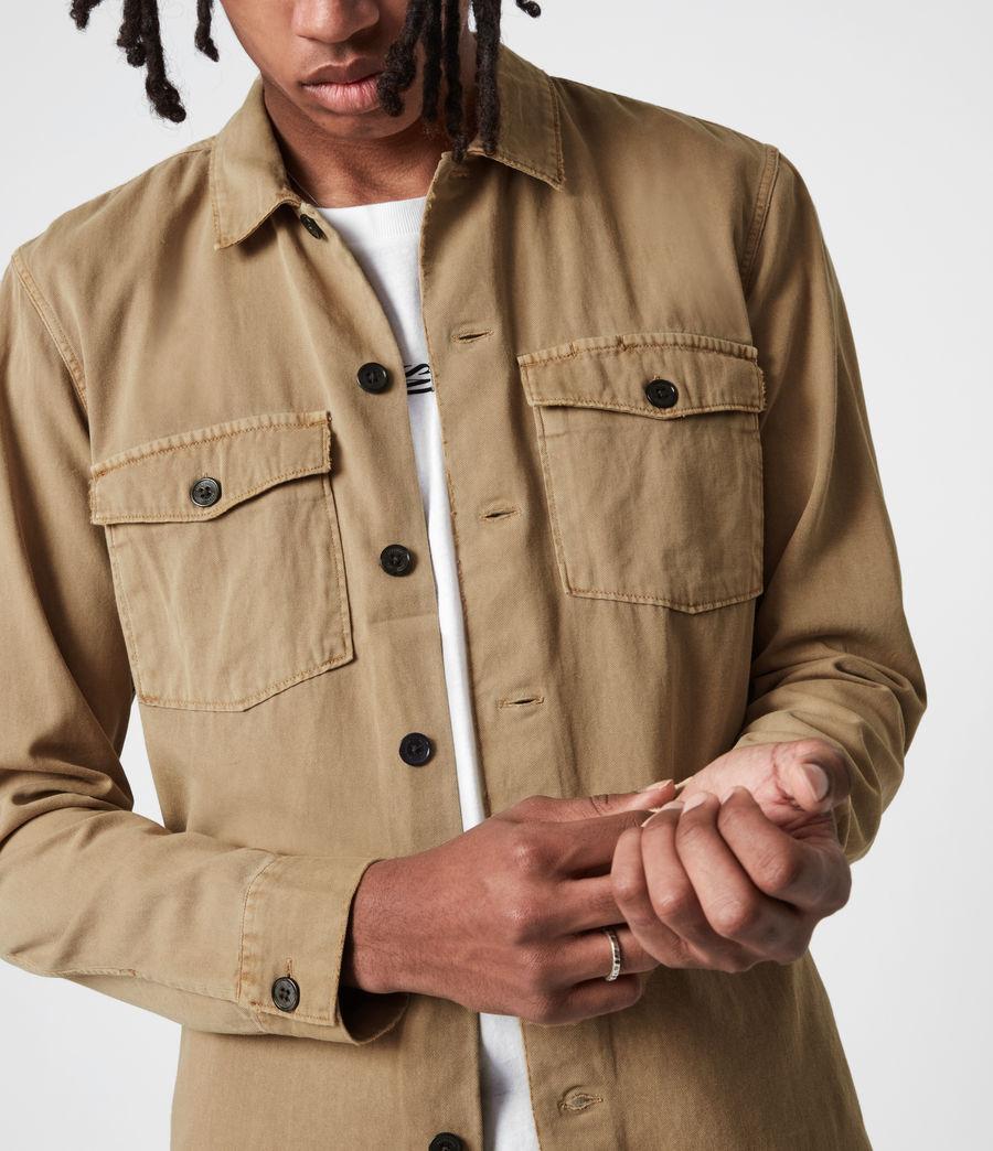 Men's Spotter Shirt (sahara_brown) - Image 4