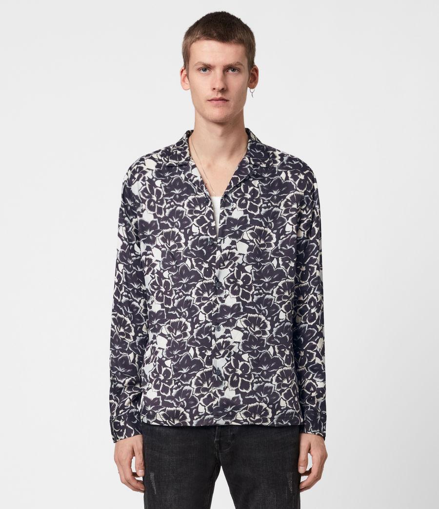 Mens Tiergarten Shirt (jet_black) - Image 1