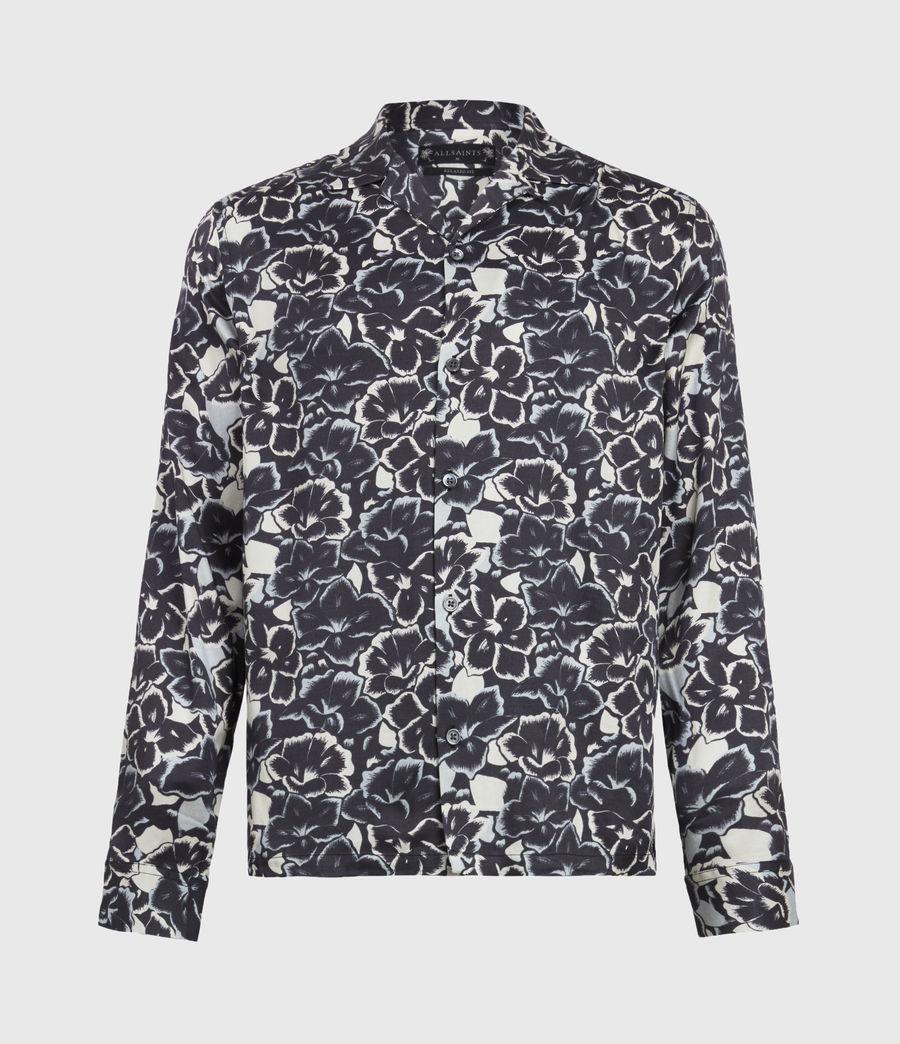 Mens Tiergarten Shirt (jet_black) - Image 2
