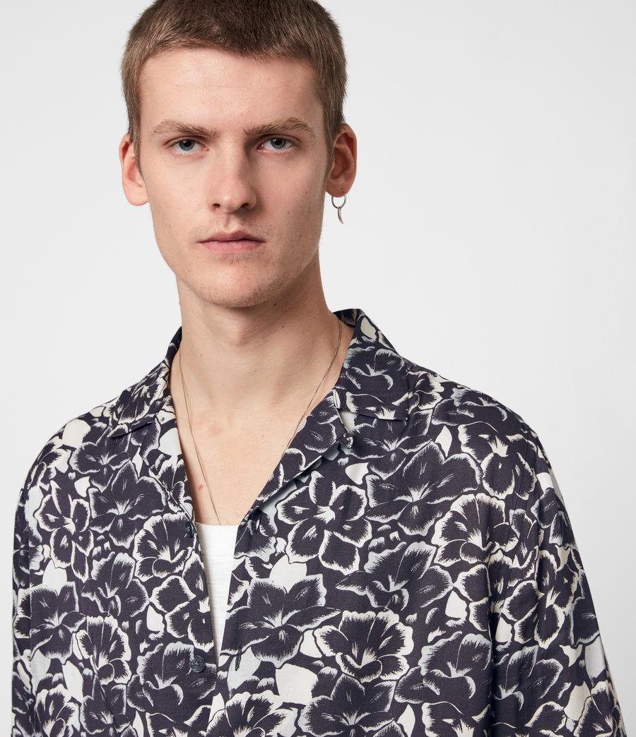 Mens Tiergarten Shirt (jet_black) - Image 4