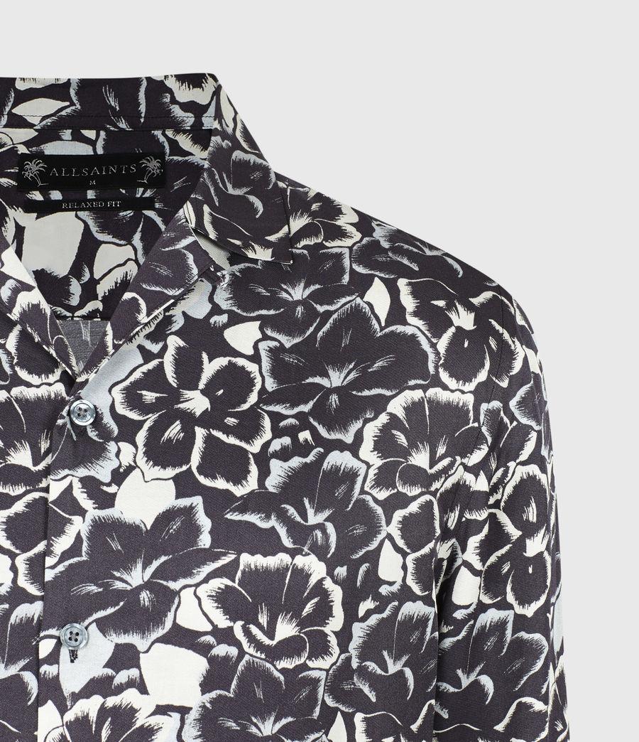 Mens Tiergarten Shirt (jet_black) - Image 5