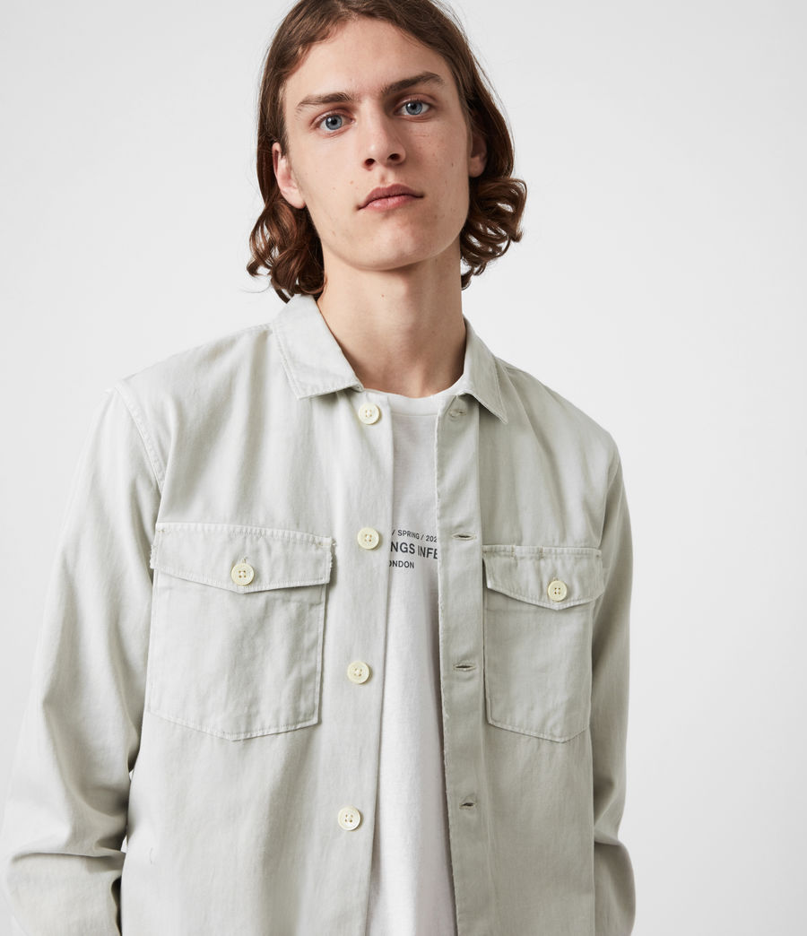 Men's Spotter Shirt (shadow_white) - Image 1