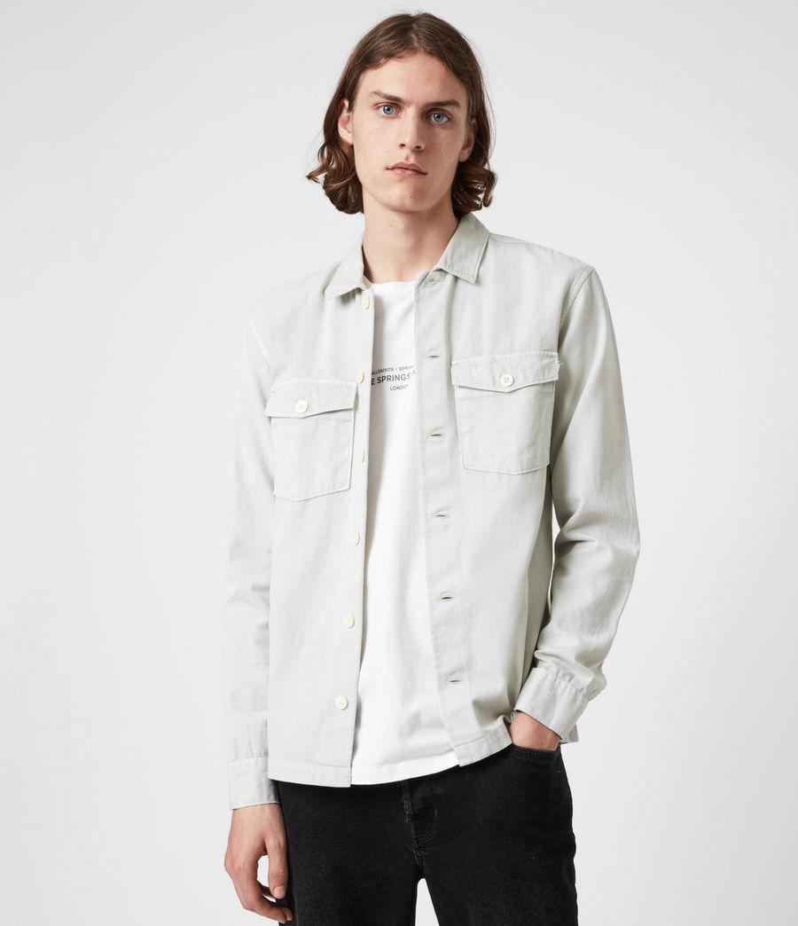 Men's Spotter Shirt (shadow_white) - Image 4