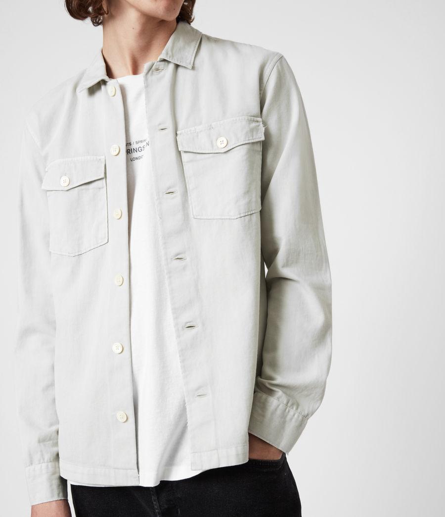 Men's Spotter Shirt (shadow_white) - Image 7