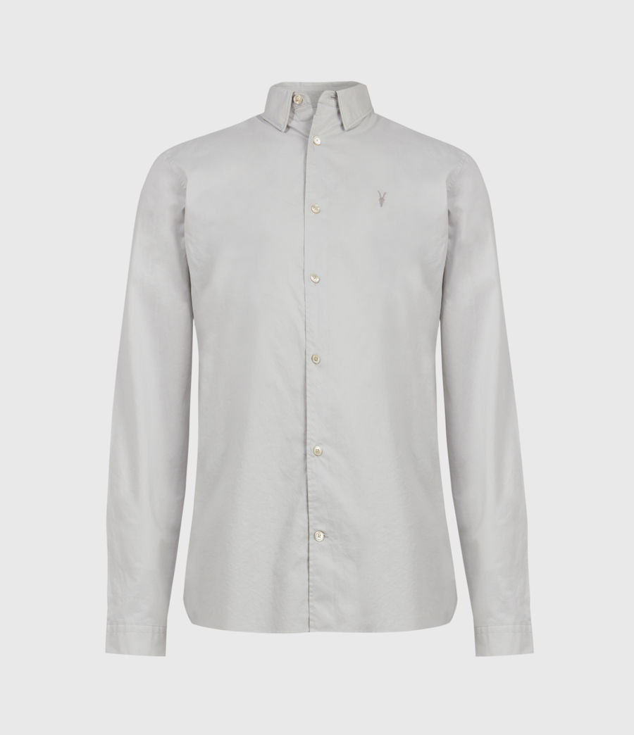 Mens Lindholm Shirt (light_grey) - Image 1