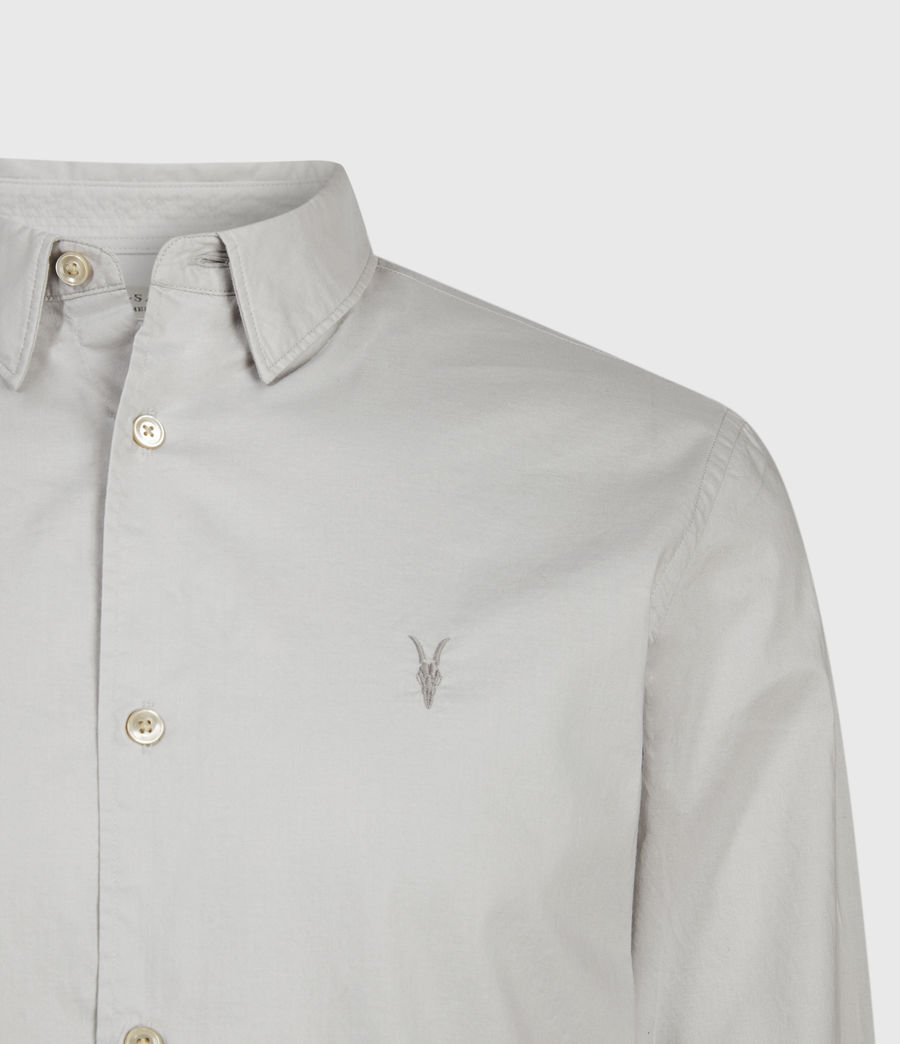 Mens Lindholm Shirt (light_grey) - Image 3