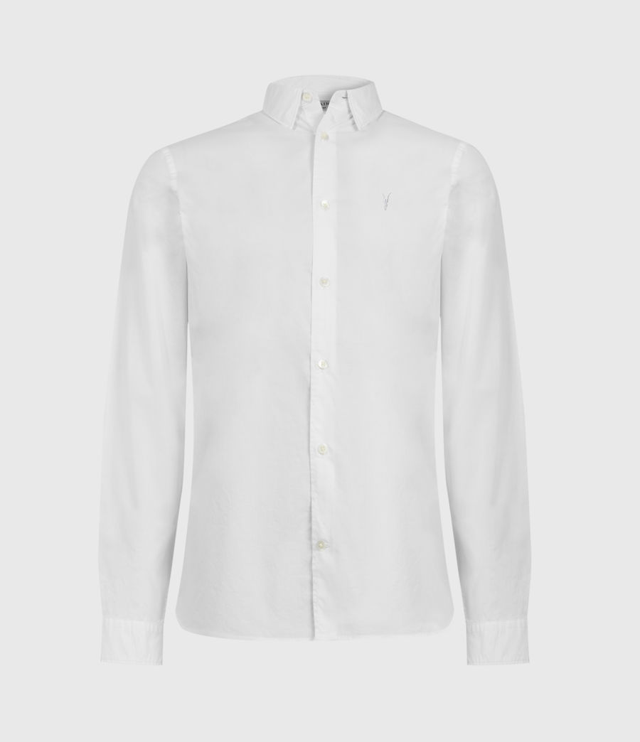 Mens Lindholm Shirt (optic_white) - Image 1