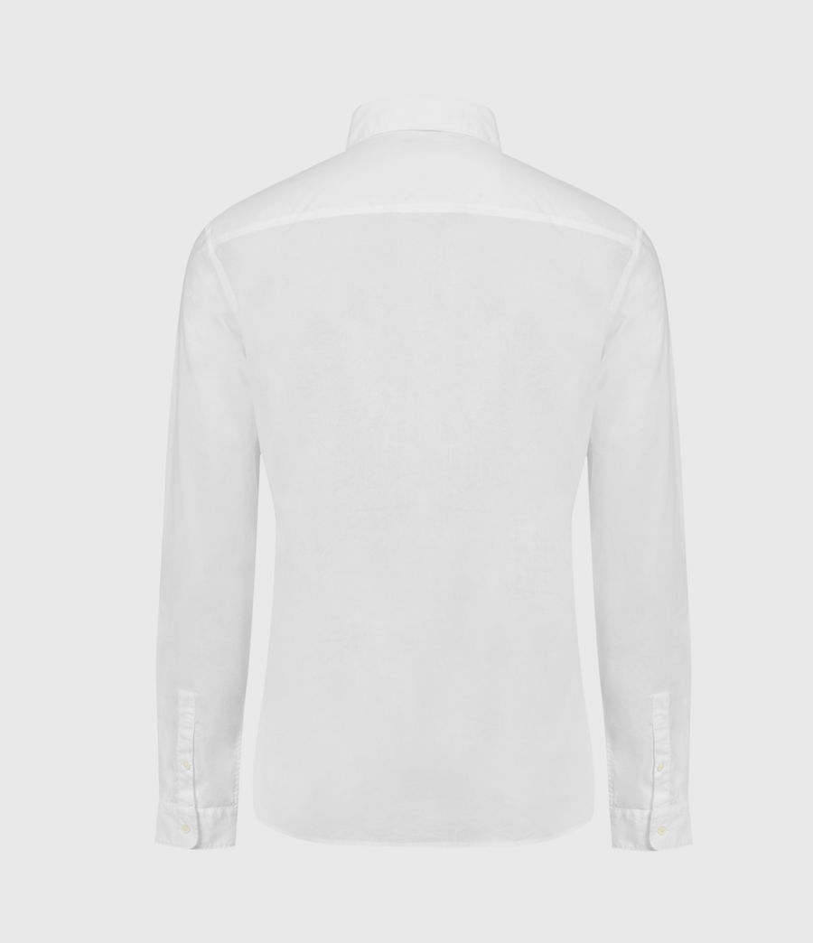 Mens Lindholm Shirt (optic_white) - Image 2