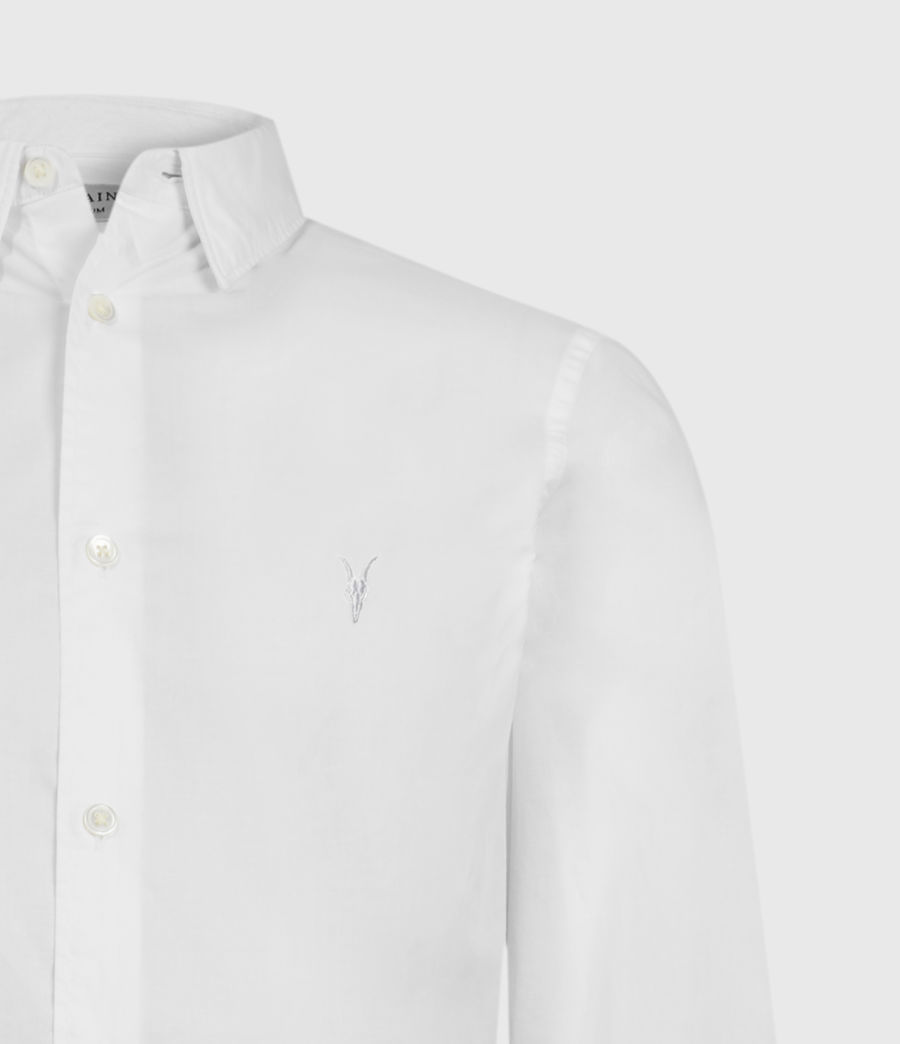 Mens Lindholm Shirt (optic_white) - Image 5