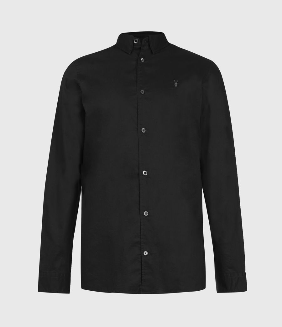 Men's Lindholm Shirt (black) - Image 4