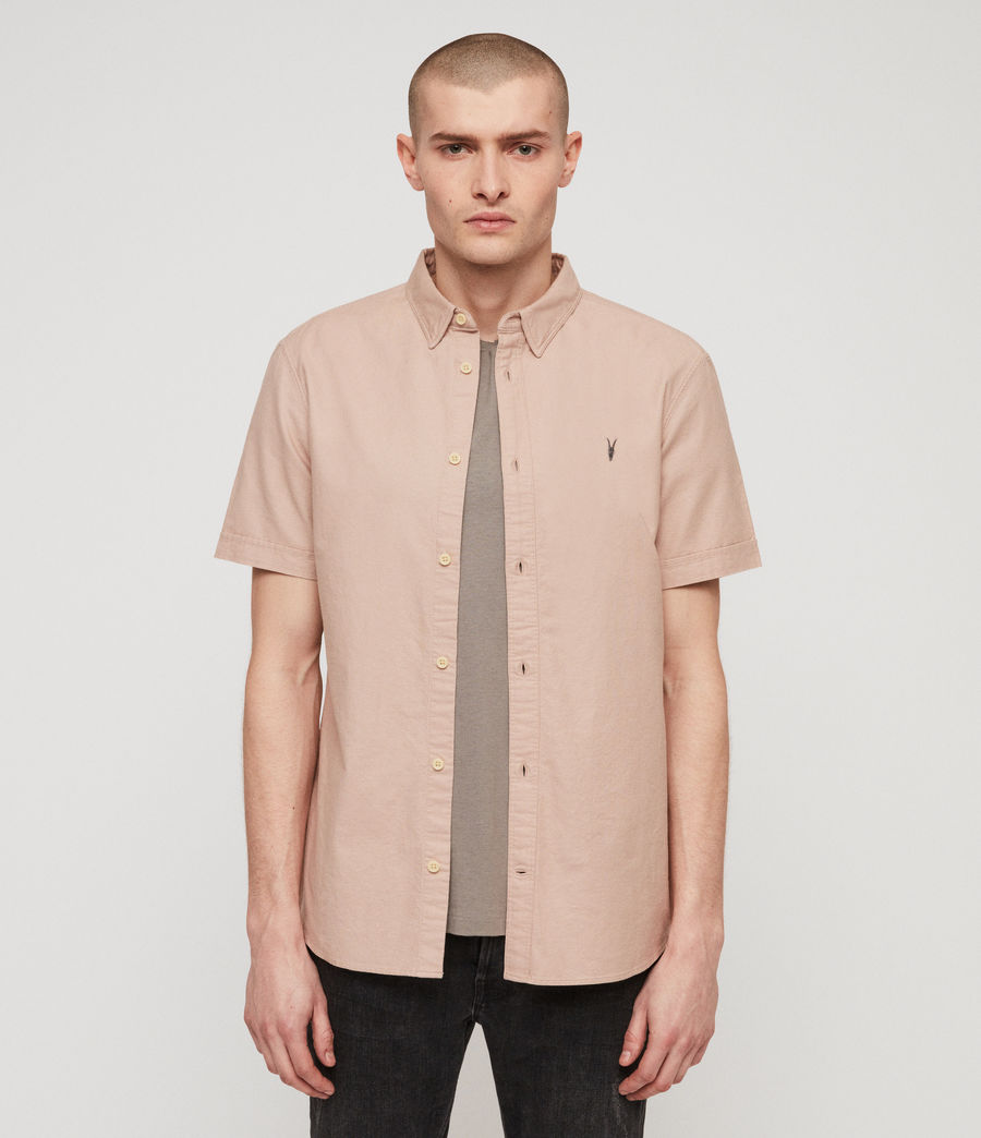 Men's Huntingdon Shirt (mushroom_pink) - Image 1