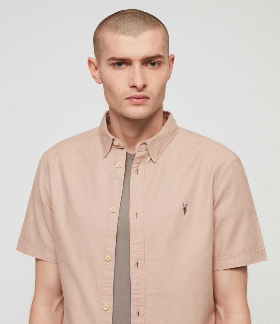 Men's Huntingdon Shirt (mushroom_pink) - Image 2