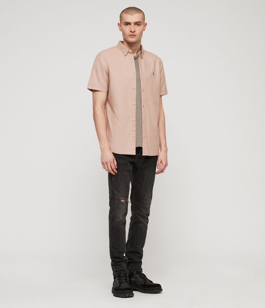 Men's Huntingdon Shirt (mushroom_pink) - Image 3